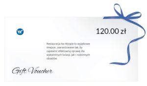 Wyspa Wisła - Voucher 120 zł