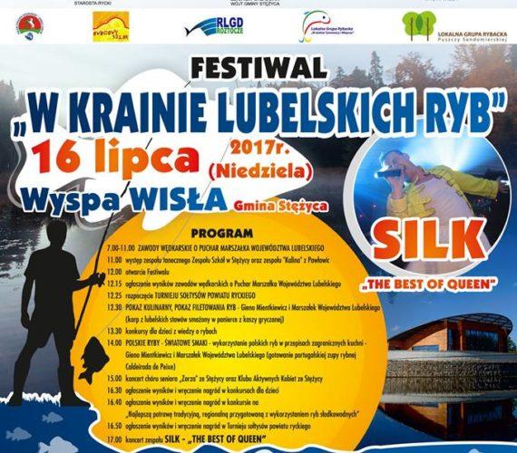 """Festiwal """"W Krainie Lubelskich Ryb"""" 16 lipca Niedziela"""