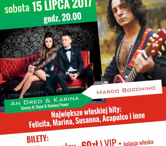 Wieczór Włoski – koncert An Dreo & Karina i Marco Bocchino