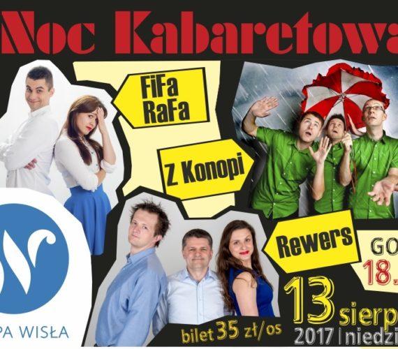 Noc Kabaretowa z FiFa – RaFa, Kabaret z Konopi oraz Kabaret Rewers 18.00 13 sieprnia / niedziela