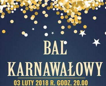 Bal Karnawałowy 3 luty 2018 Wyspa Wisła