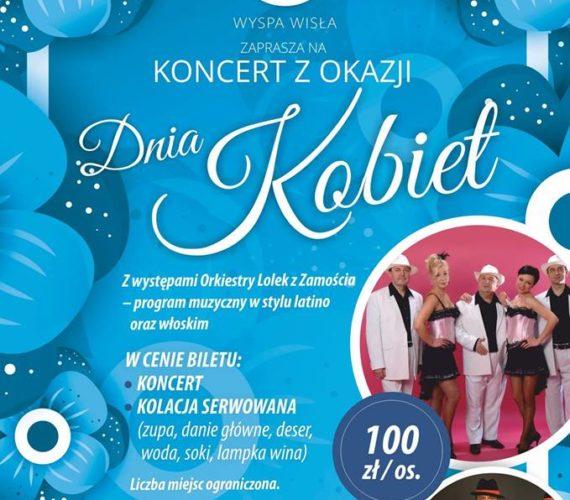 Koncert z okazji Dnia Kobiet 10 marca – 19.00