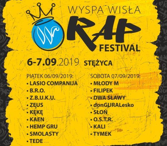 WYSPA WISŁA RAP FESTIVAL 2019 / 6-7 WRZEŚNIA / WWRF